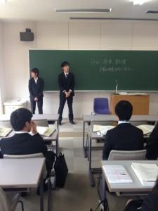 学生リーダー